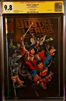 DC Comics JUSTICE LEAGUE #1 CGC SS 9.8 FOIL Variant BATMAN WONDER WOMAN SUPERMAN