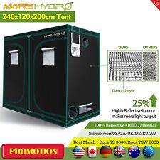 "96""x48""x78"" Indoor Grow Tent Room Box Reflective Mylar Hydroponic Non Toxic Hut"