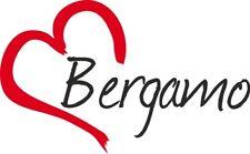 """Adesivo per auto """" BERGAMO """" (Città) cuore Sticker ca.9x15 cm taglio contorno"""