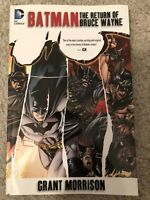 Batman: The Return of Bruce Wayne by Grant Morrison TPB DC Comics Graphic Novel