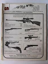 CIBLES n°122 du 04/1980; Pistolet Merkuria CZ 75/ Système à Harmonica