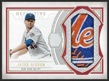 2019 Topps Bunt JACOB deGROM Definitive RED Relic Legendary 5cc *DIGITAL*