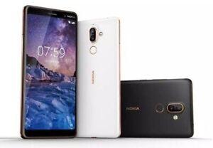 "Nokia 7 Plus (TA-1055) 4G Unlocked Smartphone 6.0"" 13MP 64GB"