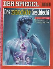 DER SPIEGEL Heft 36 /3.9.2001   Das zerbrechliche Geschlecht, Männer und Gesundh