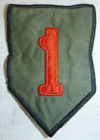 BIG RED ONE - Patch - US ARMY - 1st INFANTRY DIVISION - Vietnam War - 9457