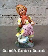 B2016681 - Figurine de 16 cm en biscuit de porcelaine 1950-70 - Très bon état