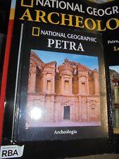 PRIMA USCITA N°1 PETRA ARCHEOLOGIA LE CITTA' DEL PASSATO NATIONAL GEOGRAPHIC