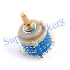 2pole 24step Rotary Switch Attenuator Volume Control DIY Pot Potentiometer small