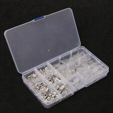 270Pcs Female & Male Spade Connectors Wire Crimp Terminals Set 2.8mm 6.3mm 4.8mm