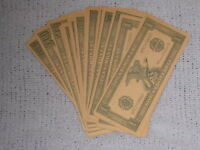 Stack of Whitman Play Money Various Denominations ranging from one to 50,000