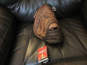 "Rawlings 11"" Preferred Lite Toe RCM315 LEFTY Youth Catchers mitt Baseball Glove"