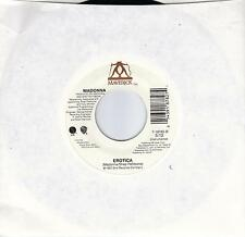 MADONNA  Erotica  2 versions  45 from 1992