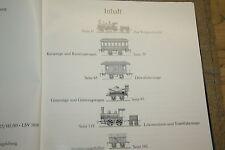 Libro da collezione vecchio modello Ferrovie, suolo Alfiere, Märklin, Bing, Plank, a partire dal 1900