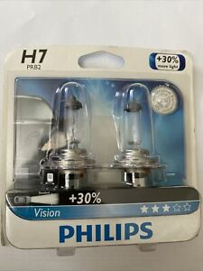 New Philips H7 PRB2 Vision Upgrade HeadLight Bulb, 2-Pack H7PRB2 Never opened