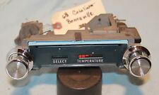 67 68 Catalina Bonneville dash heat temperture control panel lever switch