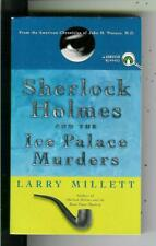 SHERLOCK HOLMES AND ICE PALACE MURDERS by Millett, Penguin crime vintage pb