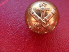 BOUTON uniforme OFFICIER CANONNIER DE MARINE  1870  1880   cuivre 22 mm