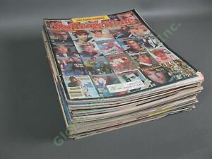20 VINTAGE 1983 Rolling Stone Magazine Collection Nice Run 385-406 Star Wars LOT