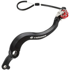 NEW ZETA TRIGGER REAR BRAKE PEDAL LEVER RED SUZUKI RMZ 450 2008-17 MOTOCROSS MX