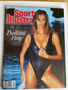 February 15 1988 Elle Macpherson Sports Illustrated Swimsuit Issue NO LABEL