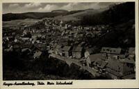 Herges Auwallenberg Thüringen DDR Postkarte ~1950/60 Gesamtansicht ungelaufen