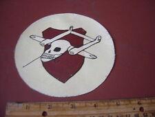 WWII LUFTWAFFE GLIDER SQ 2 /SCHLEPPGRUPPE 4 RED GOTHA SKULL  FLIGHT JACKET PATCH