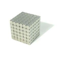"216pcs 5/32"" x 5/32"" x 5/32"" Cube 4x4x4mm Neodymium Magnets Fridge Craft N35 Neo"