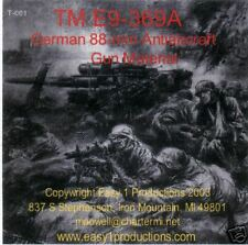 T001 TM E9-369A, German 88mm Antiaircraft Gun Material