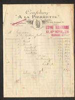 """NANTERRE (92) USINE de CONFITURES pur sucre & fruits """"A LA PIERRETTE"""" en 1920"""