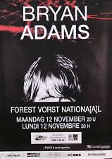 Bryan Adams 1990 Original Belgian Concert Poster