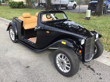 2021 BLACK california roadster Golf Cart 4 Passenger Seat FAST LUXURY CUSTOM