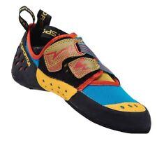 Mens La Sportiva Oxygym Climbing Shoe Blue/Red, Sz 40.0 Eu