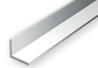 """Evergreen Strip Styrene - Right Angle - Various Widths, Length 14"""", 350mm approx"""