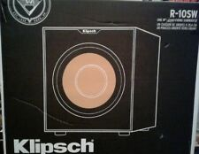 "KLIPSCH REFERENCE R-10SW 10"" 300 WATTS SUBWOOFER == LIKE NEW =="