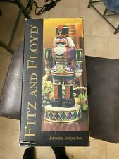 Fitz & Floyd Baronial Nutcracker Signature Collection Christmas rare