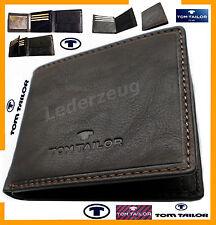Herrenbörse Herrengeldbörse Tom Tailor Geldbörse Leder Portemonnaie ---
