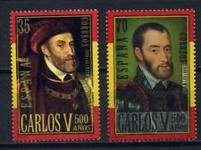 2000 Spanje Keizer Karel V 3530-3531