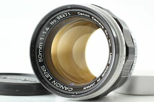 [Exc+4] Canon 50mm f/1.4 LTM L39 Leica Screw Mount MF Lens From JAPAN