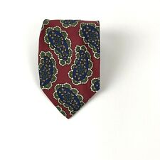 Vintage HUGO BOSS Mod Paisley Tie 100% Silk Made in Italy