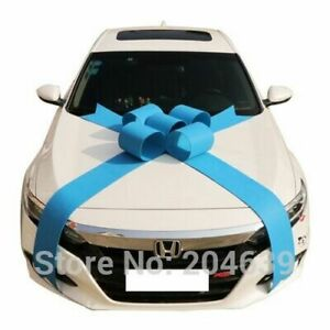Car Bow Ribbon Wedding Non-woven Fabric Decoration for Any Special Occasion DIY