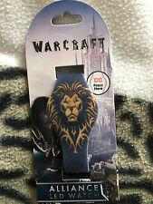 Warcraft  Alliance  led digital  watch