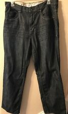 Ecko Unltd Mens Jeans Dark Wash Denim Size 36 100% Cotton