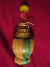 EMPTY miniature Fattoria La Cava Wine bottle