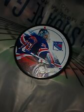 93b609172f7 New York Rangers Showtime Puck Henrik Lundqvist NHL Brand New