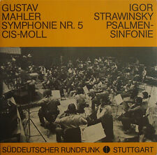 """Bertini: Mahler Symphony No. 5 (""""live"""", 1981) - SDR Stuttgart 501/502 (2LP set)"""
