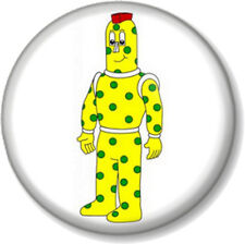 SPOTTY 25mm Pin Button Badge Old School Cartoon Retro Kids TV 1980s SuperTed