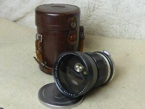 Asahi Auto Takumar 35mm f2.3 fast + metal cap + case. optics unmarked aperture++