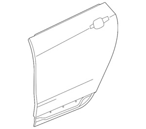 Genuine GM Outer Panel 20921336
