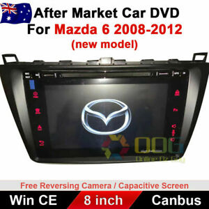 """8"""" Car DVD GPS Navigation Stereo Head Unit For Mazda 6 2008-2012 Support Bose"""