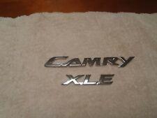 Toyota Camry XLE Emblem Set Chrome Original OEM Parts